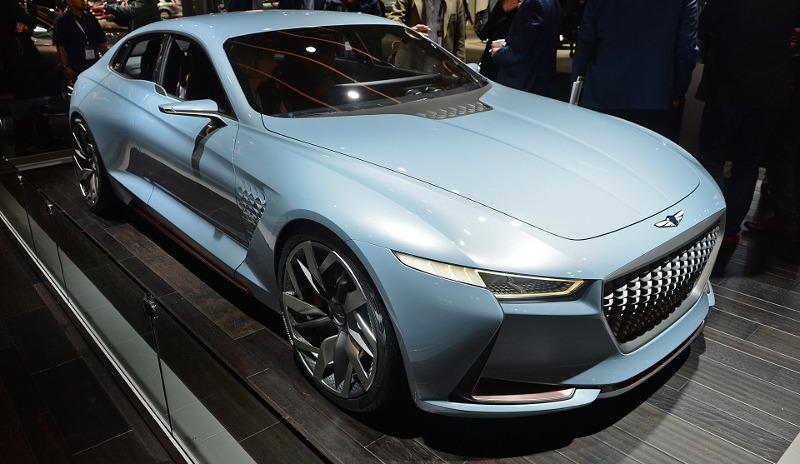 Genesis hybrid sports sedan concept
