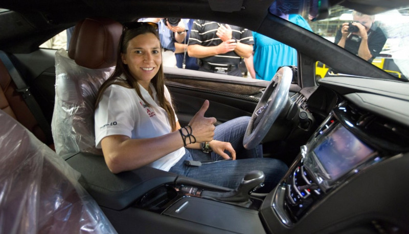 Première Cadillac ELR