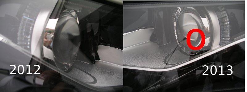 Phares Opel Ampera 2012 et 2013