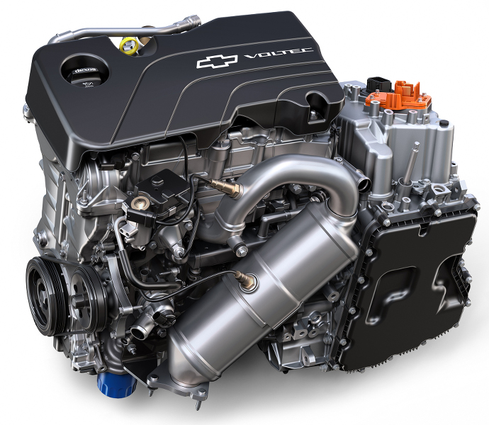 Chevrolet Volt 2016: La Transmission De La Volt 2 Expliquée