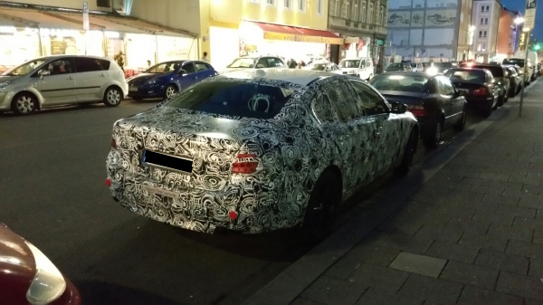 Prototype BMW 530e