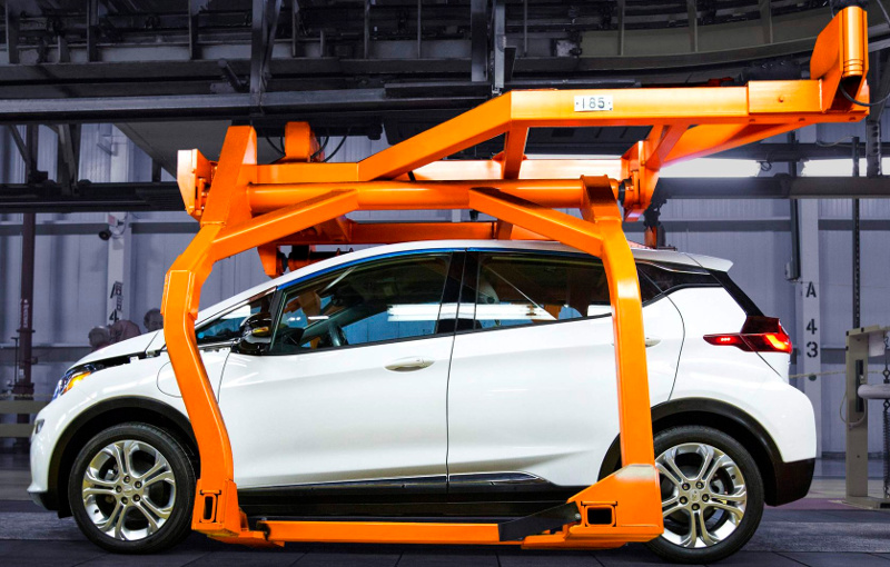 Production Chevrolet Bolt