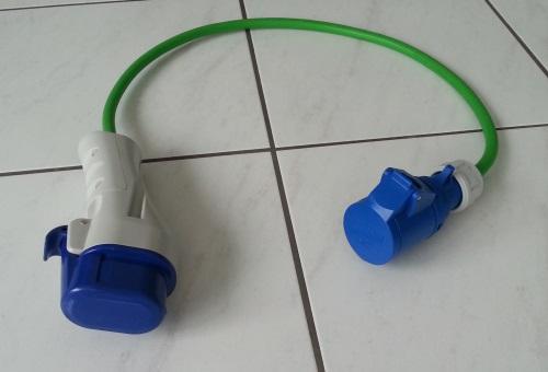 Adaptateur Mode 3 Type 3 / Mode 1 CEE P17