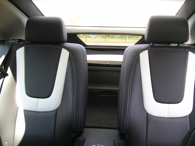 Compartiment arrière Opel Ampera