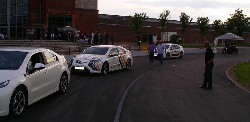 Opel Ampera à la cité de l'automobile à Mulhouse