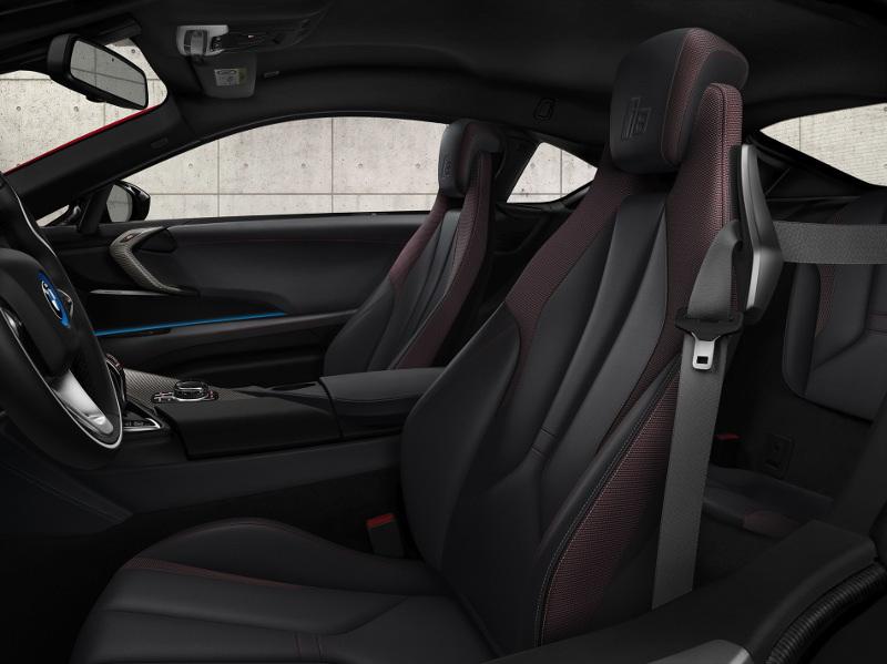 Intérieur BMW i8 Protonic Red