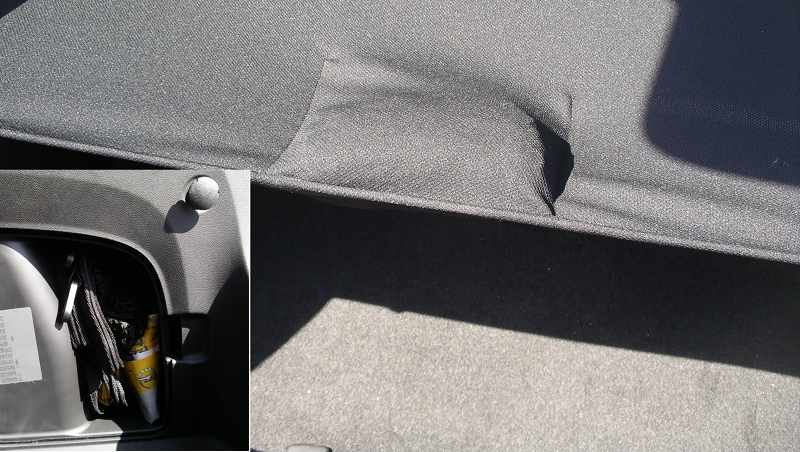 Filet de coffre Opel Ampera