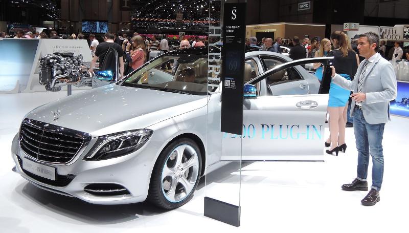 Mercedes Classe S plug-in