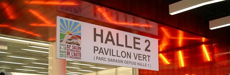 pavillon vert du salon de Genève 2012