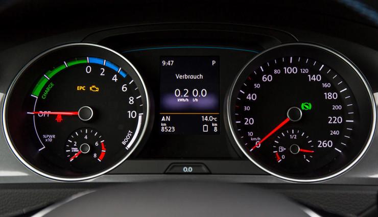Compteurs Volkswagen Golf GTE