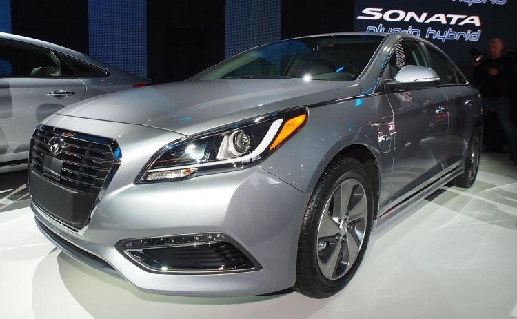 Huyndai Sonata hybride rechargeable