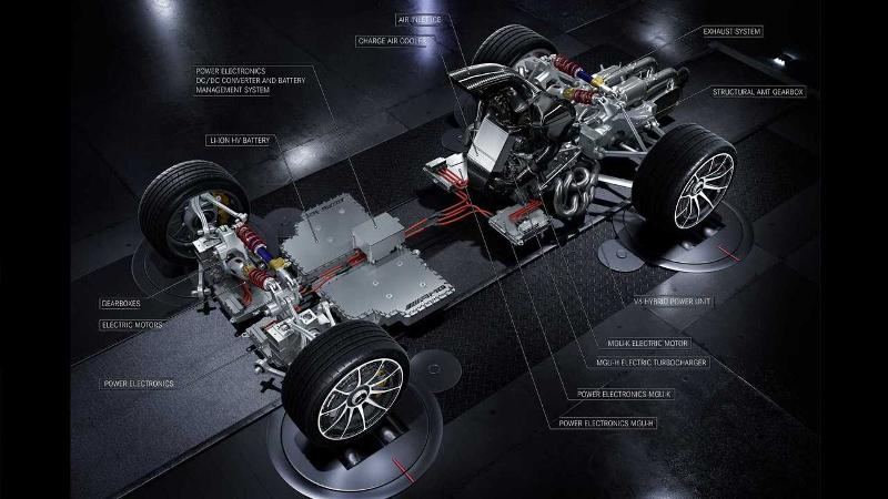 Mercedes Concept One Ecorché