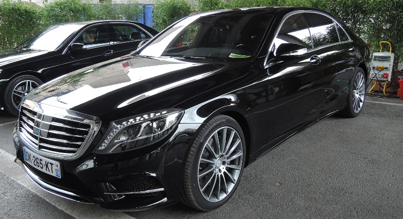 Mercedes S550 plug-in