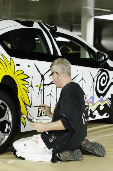 Opel Ampera Art Car Andi Luzi