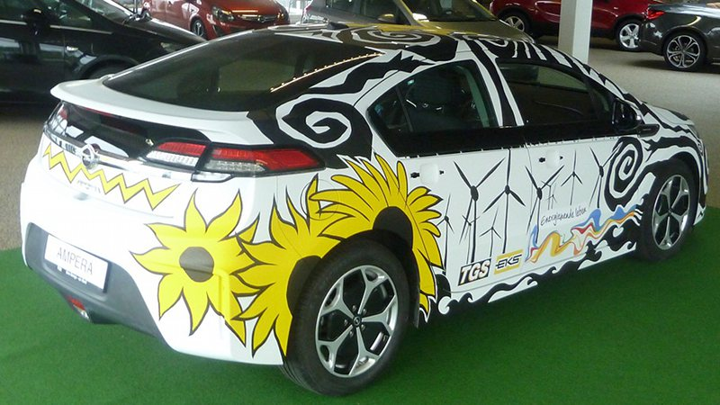 Opel Ampera Art Car
