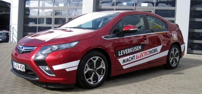 Opel Ampera Bayer 04 Leverkusen