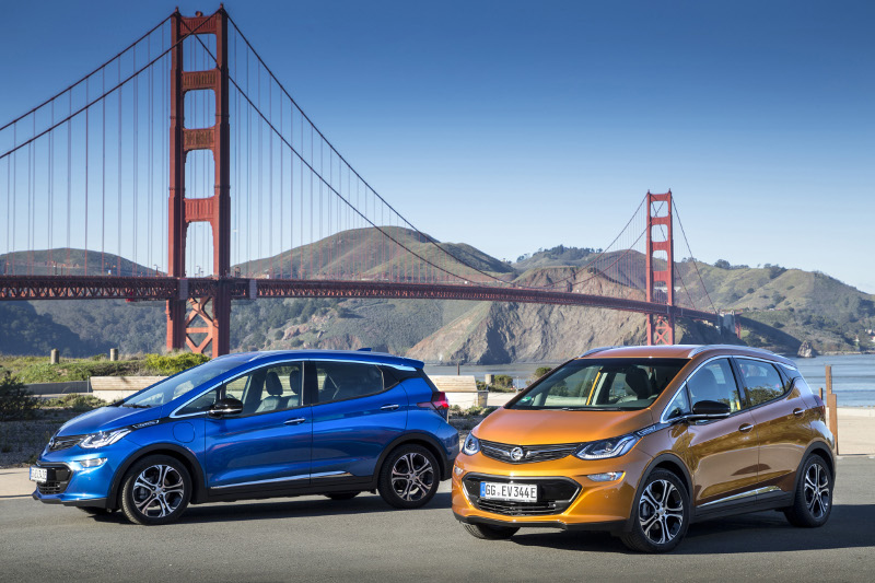 Opel Ampera-e Golden Gate