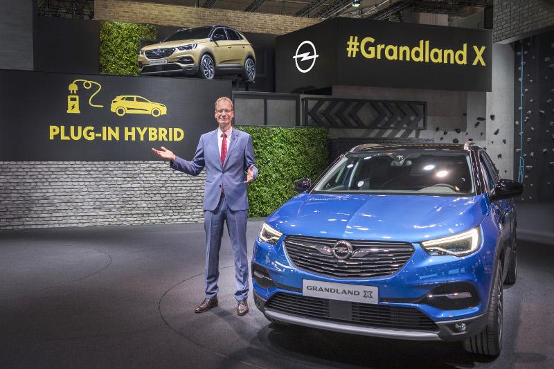 Opel Grandland X Francfort
