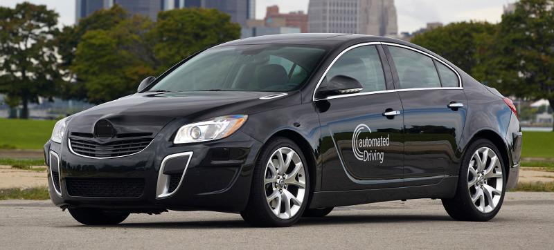 Prototype Opel Insignia autonome