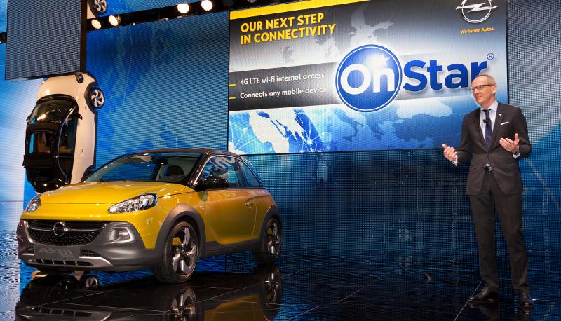 Présentation Opel OnStar Genève 2014