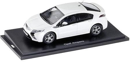 Opel Ampera modèle réduit blanche