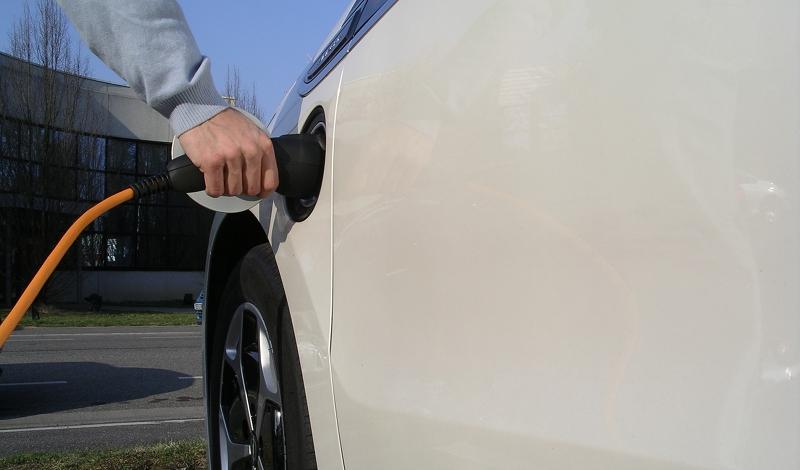 Débranchement d'une Opel Ampera