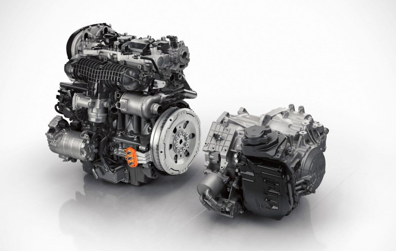 Chassis Volvo Hybrid Twin Engine T8