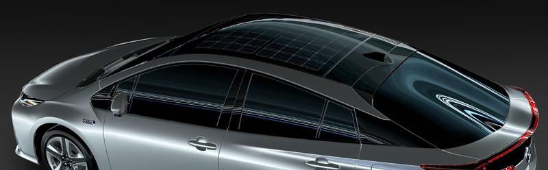 Toyota Prius Prime toit solaire