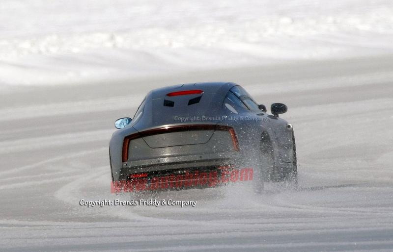 Volkswagen Formula XL1 sur neige