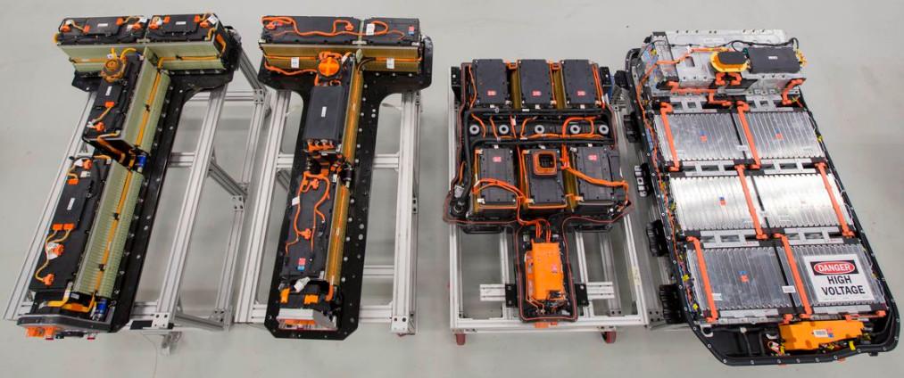 Opel Ampera-e Volt Ampera batteries