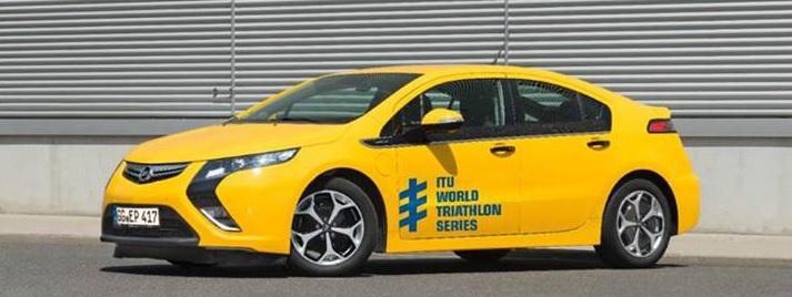 Opel Ampera ITU triathlon