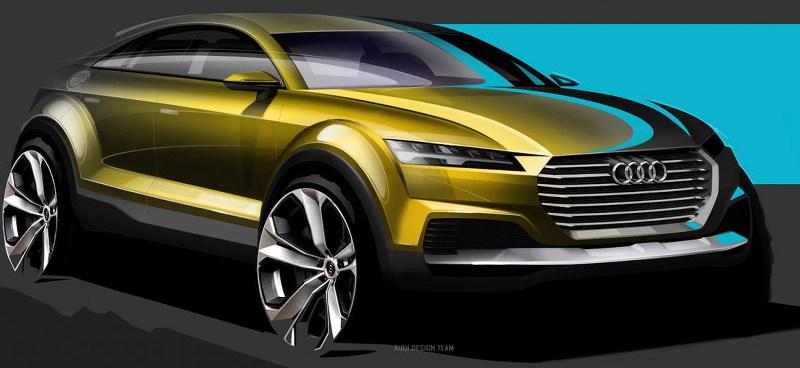 esquisse Audi Q4