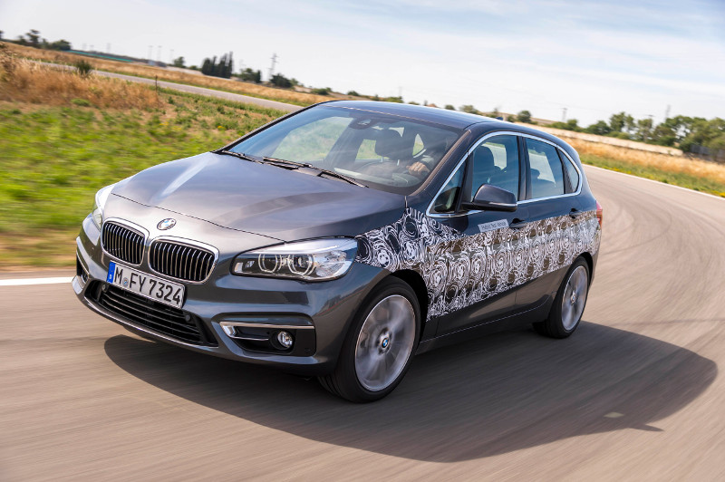 BMW 2 ActiveTourer hybride rechargeable
