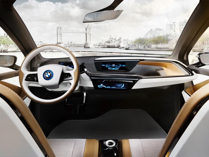 Tableau de bord BMW i3