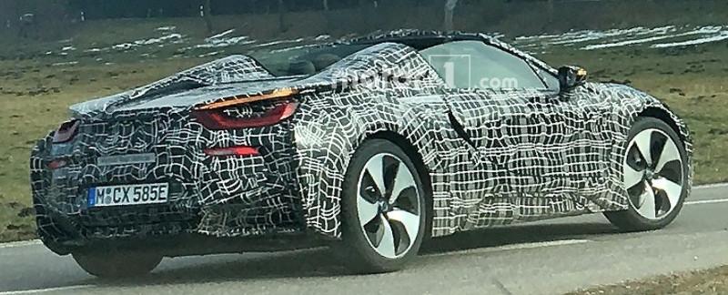 BMW i8 Spyder prototype