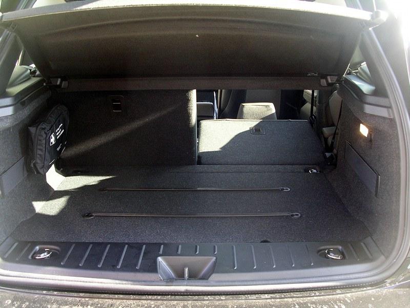 Coffre arrière de BMW i3