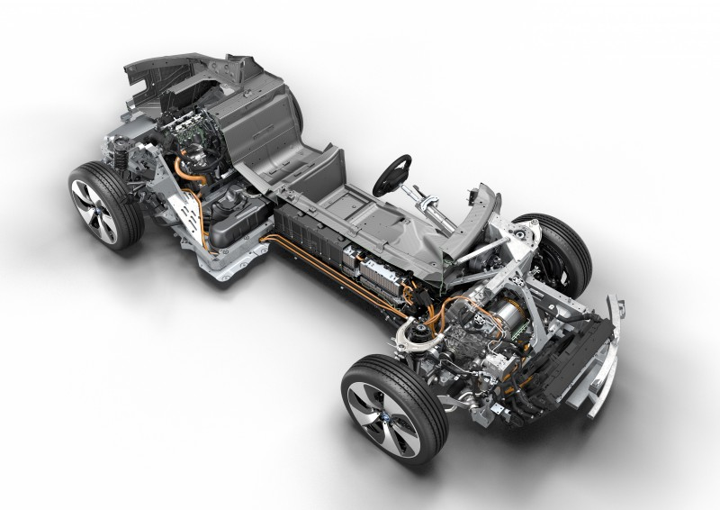 Chassis BMW i8