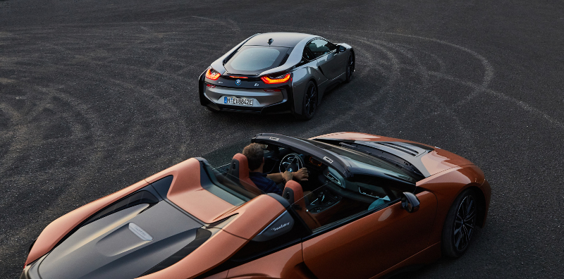 BMW i8 Coupe Spyder