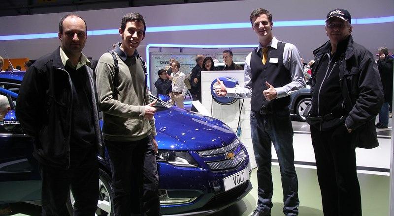 Salon de Genève 2013 - Chevrolet Volt