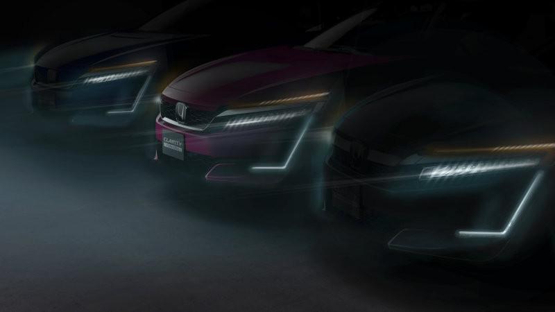 Teaser Honda Clarity