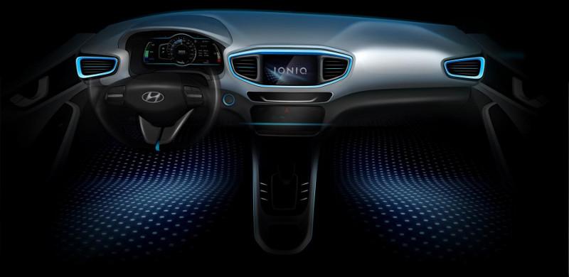 Intérieur Hyundai Ionic