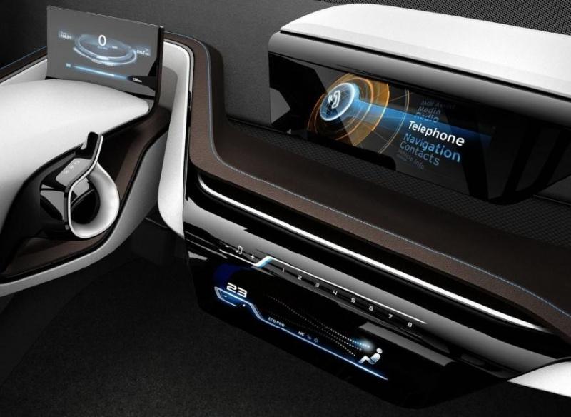 Intérieur du concept BMW i3