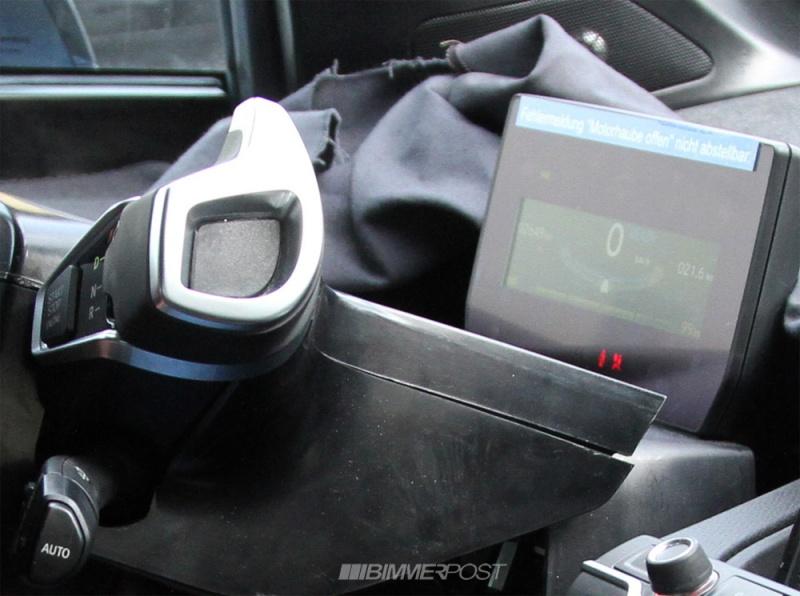 Intérieur du BMW i3 de développement