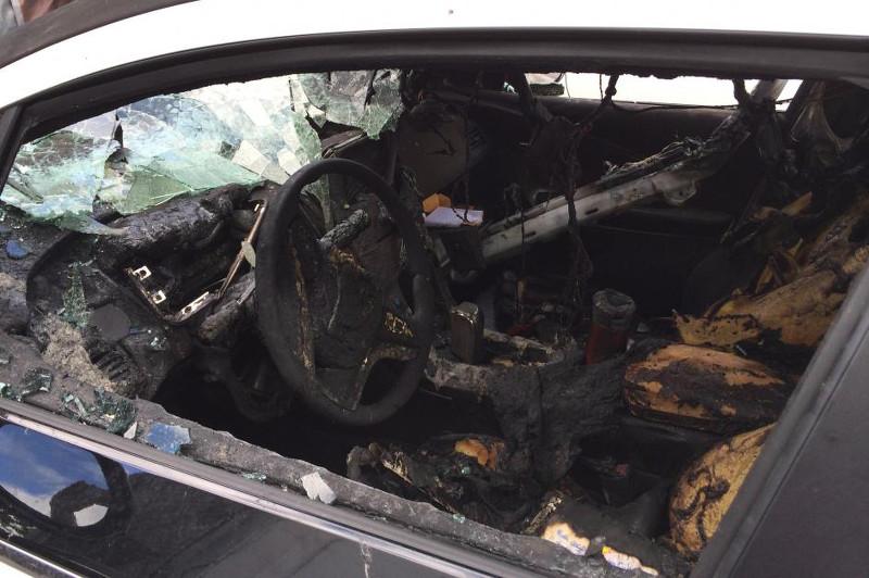 Incendie Chevrolet Volt
