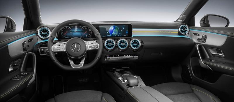 Intérieur Mercedes Classe A 2018
