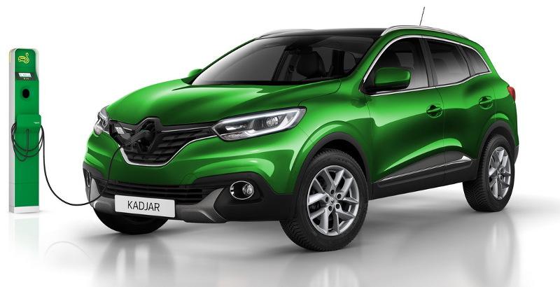 Renault Kadjar hybride rechargeable