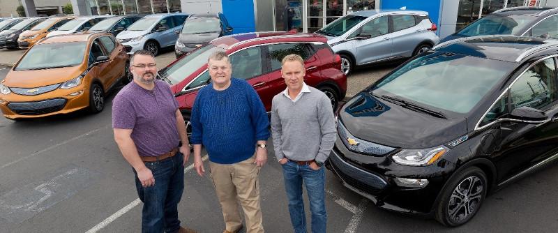 Livraison premieres Chevrolet Bolt