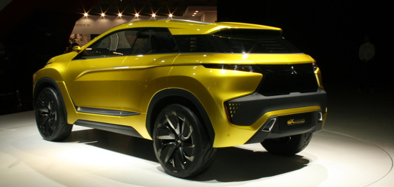 Mitsubishi eX concept Tokyo 2015