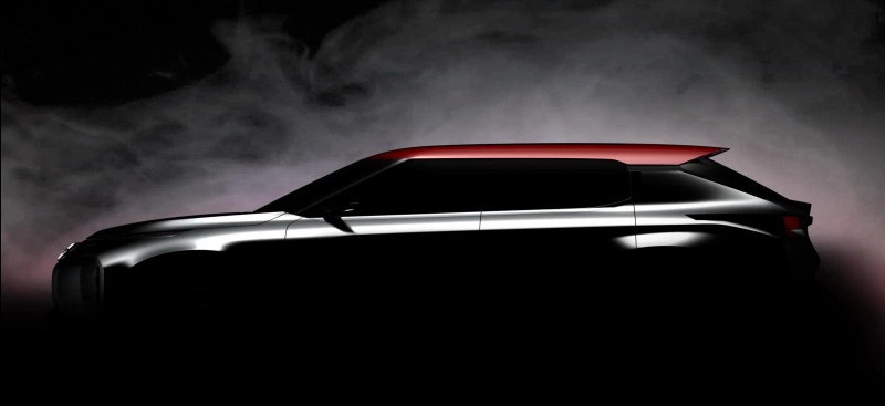 Teaser Mitsubishi Ground Tourer Concept Mondial Paris 2016