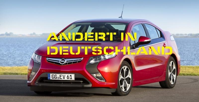 Opel Ampera modifiée en Allemagne